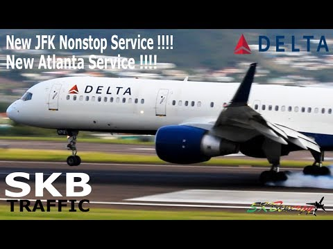 Delta Airlines announces new nonstop service from JFK and more flights from ATL to St. Kitts !!!