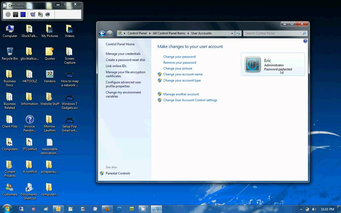 How To Create A New User In Windows 7  Youtube