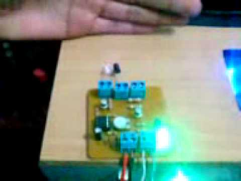 Sensor de movimiento con 555 probado youtube - Sensor de movimiento luz ...