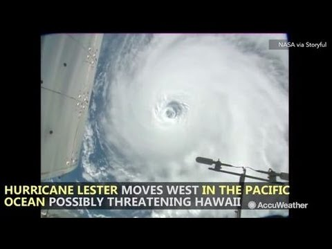 Space Station Orbits Over Three Hurricanes Around the World on August 30, 2016