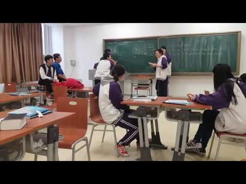 Chinese  high school students in Beijing