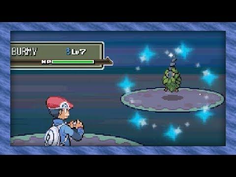 Live Shiny Burmy After 3,560 Soft Resets! (Pokémon Platinum)