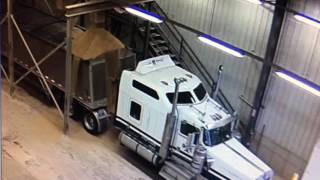 How not to load a Grain Hopper!  Read description before making comment that makes you look stupid!