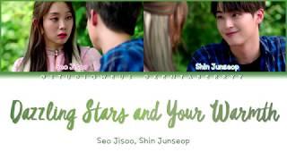 SEO JISOO (LOVELYZ), SHIN JUNSEOP (MYTEEN) - DAZZLING STARS AND YOUR WARMTH [HAN/ROM/ENG LYRICS]