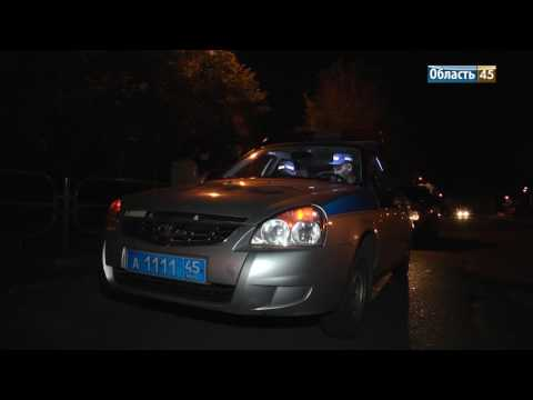 Сотрудники ГИБДД ловили нарушителей на дорогах Кургана