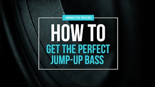 How To Get the Perfect Jump Up Bass | DB Bass Tutorial