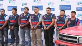 Desarticulan al Cártel Jalisco Nueva Generación en Apaseo el Alto y Celaya.