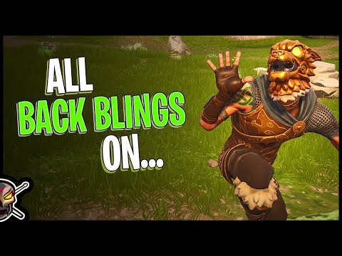 All Back Blings On Battle Hound - Fortnite Cosmetics