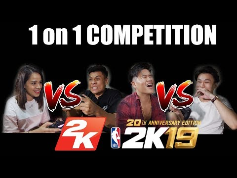 Tropic Monsters playing 1-ON-1 NBA 2k19   (EXTRA SESSION) Noob Asian Gamers
