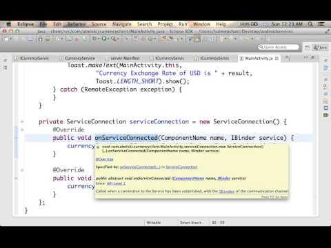 Android Remote Service Development