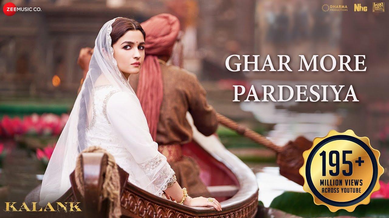 Ghar More Pardesiya - Kalank |Varun, Alia & Madhuri|Shreya & Vaishali|Pritam|Amitabh|Abhishek Varman