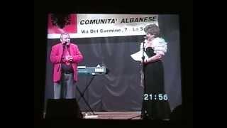 Humor Shkodran ne La Spezia Itali, Zyliha Miloti e Besnik Qinari