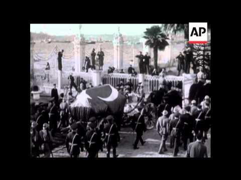 Ataturk Lying In State