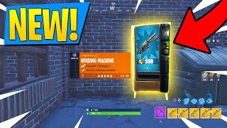 NEW VENDING MACHINES GAMEPLAY! FREE Scars For EVERYBODY! Fortnite Battle Royale LIVE!