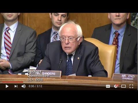Sen. Sanders Questions OMB Deputy Director Russ Vought on His Faith