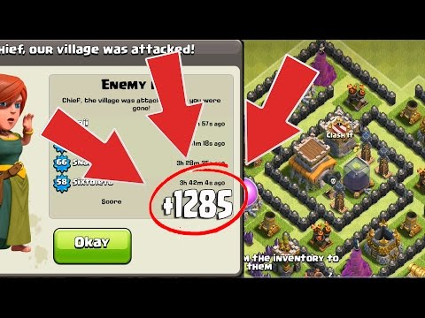 Th8 Farming Base With Bomb Tower 2016 New Update Anti Everything-Anti Giant Anti Loot