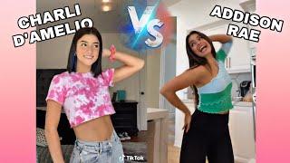 Charli D'amelio vs Addison Rae TikTok Dances! (Perfectly Synced)