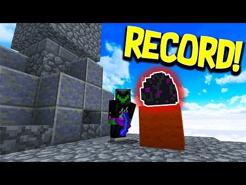 """A NEW RECORD!"" Minecraft - MONEY WARS #1 with PrestonPlayz & WallStreet"