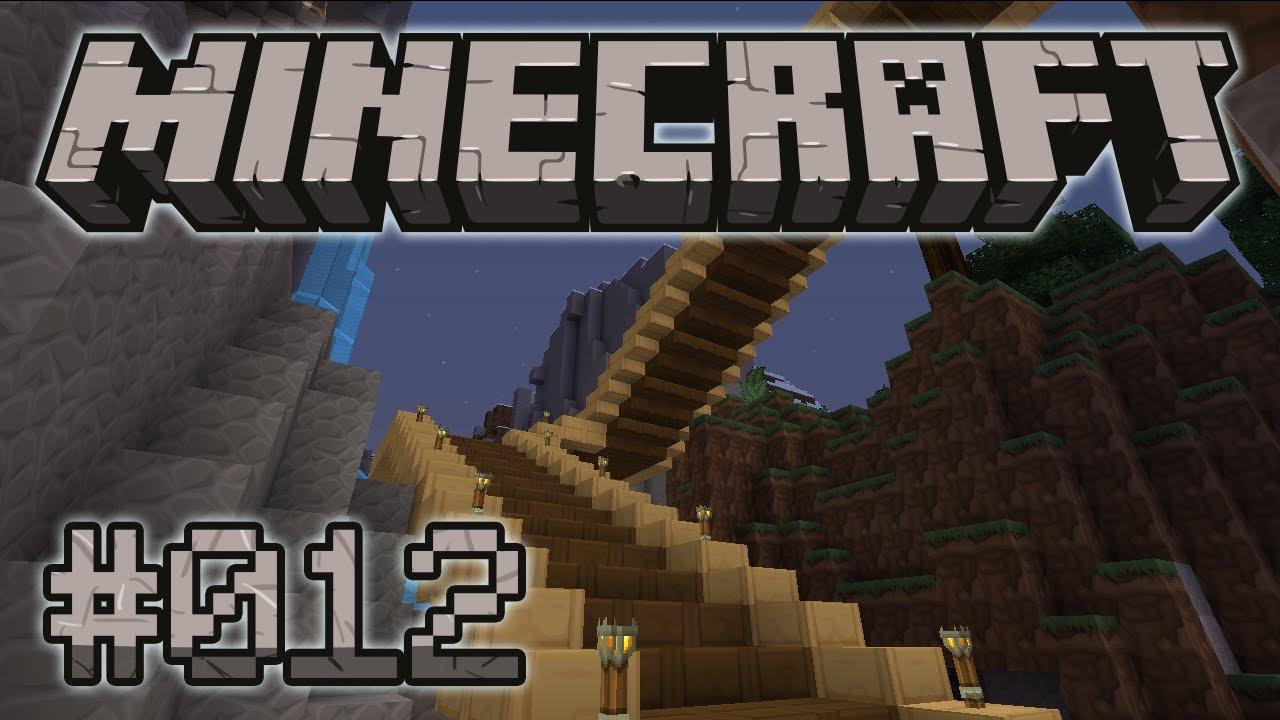Minecraft Hd 012 Eine Schöne Treppe Let S Play