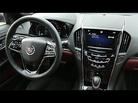 2014 Cadillac Ats Interior Review Youtube