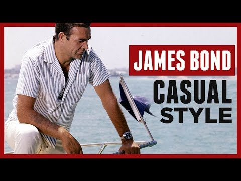 Summer Style Tips From James Bond | Dress Like 007 Hot Weather Casual Clothing | RMRS