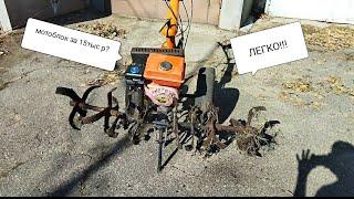 Мотоблок за 15тыс рублей. Как выбрать, где купить и зачем. Мотокультиватор Patriot.