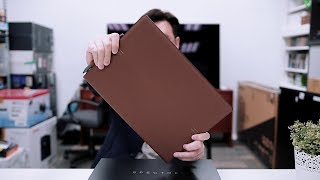Unboxing: HP Spectre Folio leather-backed convertible notebook