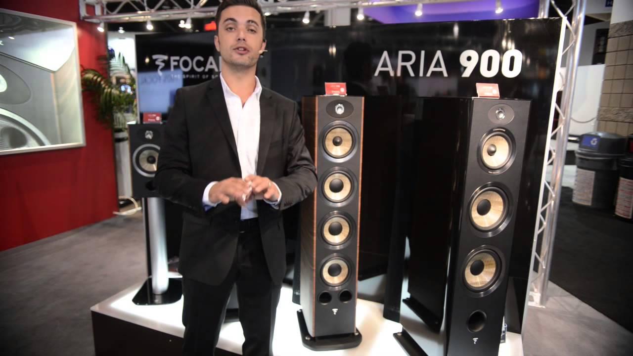 CEDIA 2013 - Focal Aria 900 Series