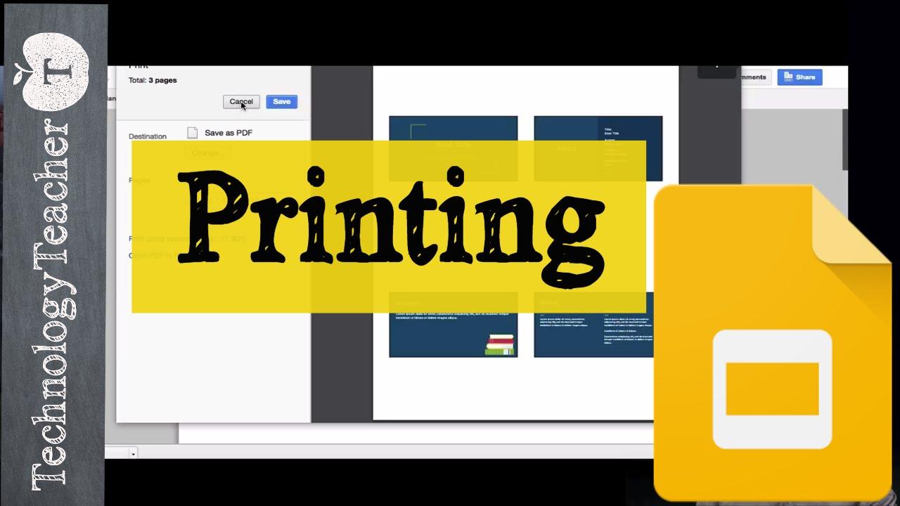 how to print speaker notes in google slides