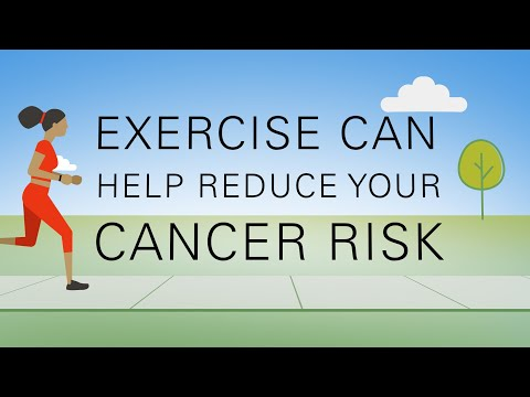 How exercise can reduce your cancer risk
