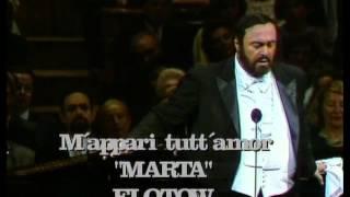 Pavarotti Flotow M 39 appari tutt 39 amor