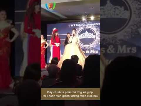 Phần thi ứng xử của Hoa hậu Phi Thanh Vân
