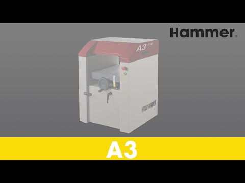 hammer a3 31 regruesadora cepilladora youtube. Black Bedroom Furniture Sets. Home Design Ideas
