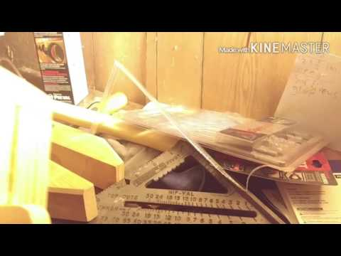 The process of a young woodworker