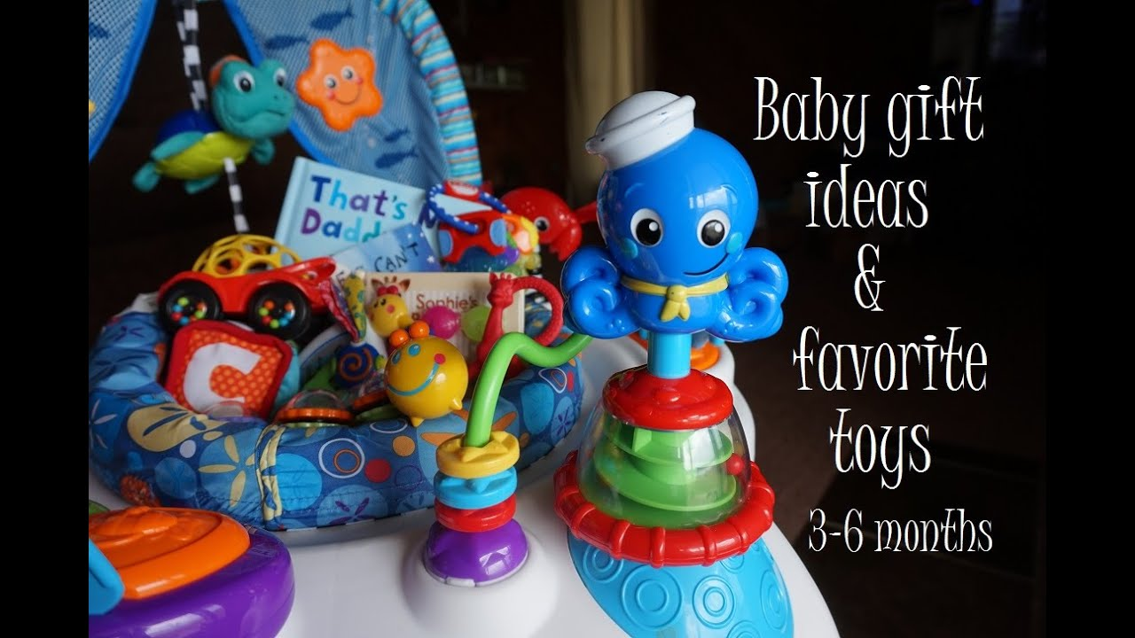5 Months For Baby Toys : Baby gift ideas favorite toys months youtube