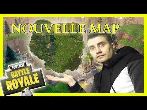 ALORS VOTRE AVIS SUR LA NOUVELLE MAP ???? FORTNITE BATTLE ROYALE [FR/PS4/LIVE]