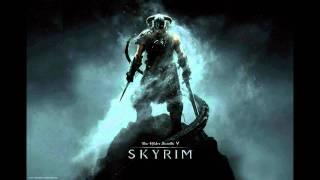 Skyrim theme song with lyrics.