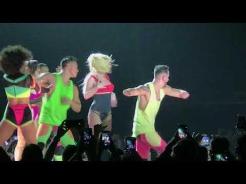 Britney Spears Missy Elliott Medley live Piece of Me Tour London O2