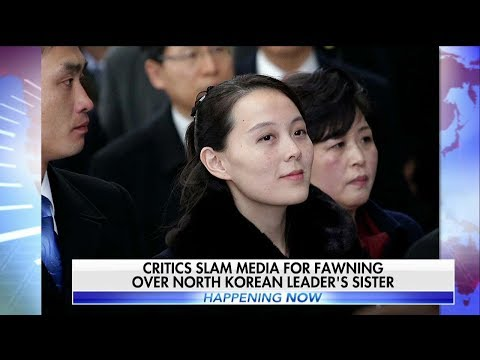 Media Criticized for Fawning Coverage of Kim Jong Un's Sister at Olympics