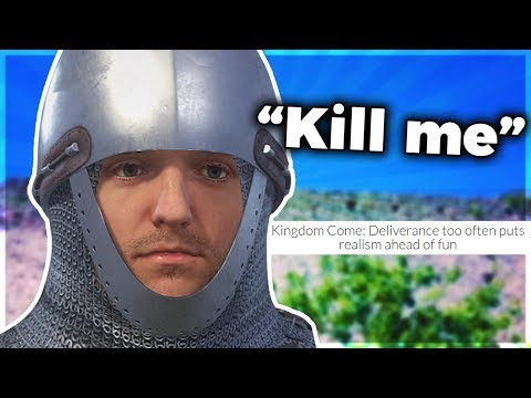 Kingdom Come: Deliverance – The Most Realistically Buggy Video Game Ever Made