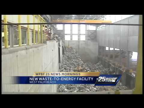 New waste-to-energy facility opens