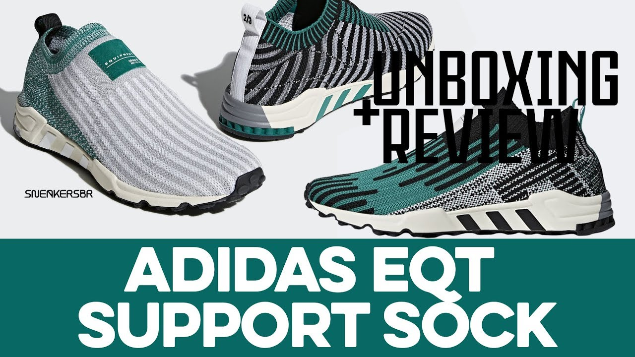 new concept 14280 590e0 UNBOXING+REVIEW - adidas EQT Support Sock