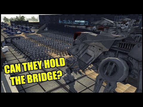 Can the CLONE ARMY Hold the BRIDGE?