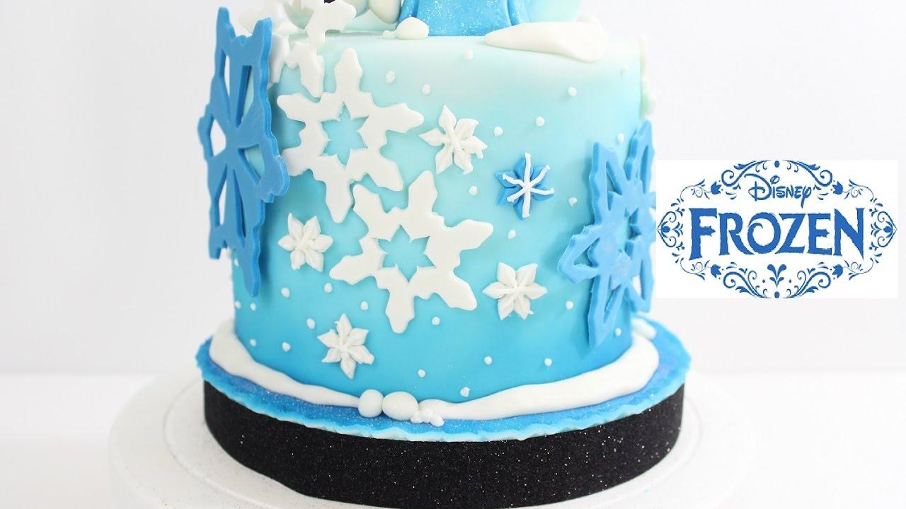 Cómo Decorar Una Torta De Frozen Natalia Salazar