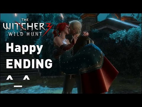 triss or yennefer ending a relationship
