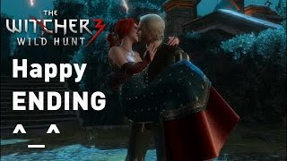 Witcher 3 ★ Ciri Alive and Triss END