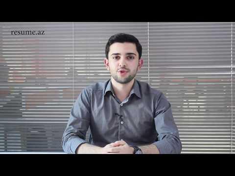 Murad Həsənov - BP şirkətində intern öz təcrübəsini bölüşür