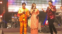 Ye Bandhan To Pyar Ka Bandhan Hai || Kumar Sanu,Udit Narayan and Alka Yagnik Live Parformance ||