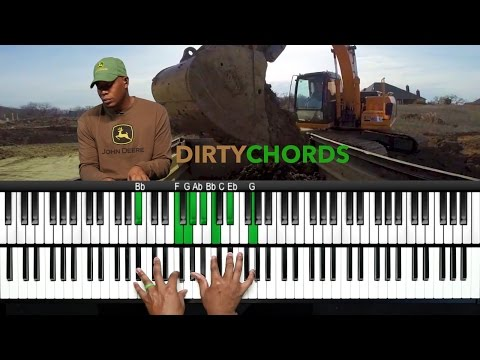 "Play ""Dirty"" Chords Like Snarky Puppy and Robert Glasper!!!"