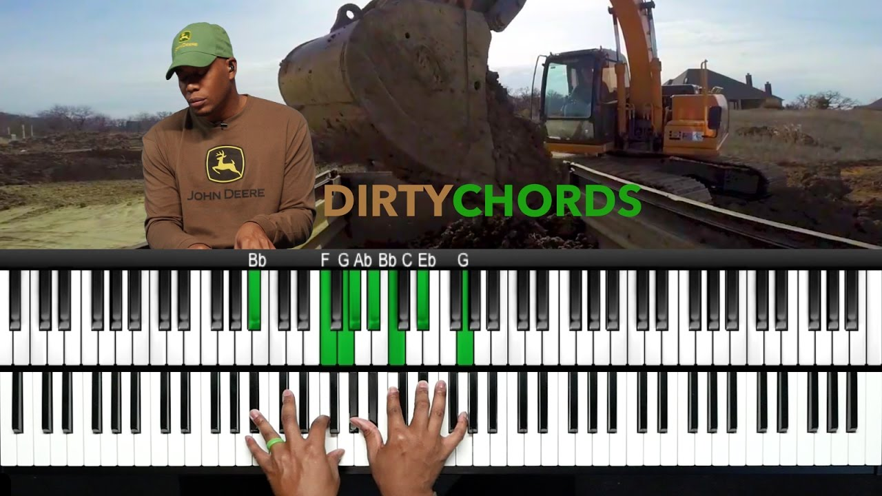 Play dirty chords like snarky puppy and robert glasper youtube play dirty chords like snarky puppy and robert glasper hexwebz Choice Image